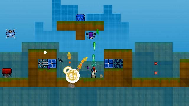 GunnRunner screenshot buttons shooting