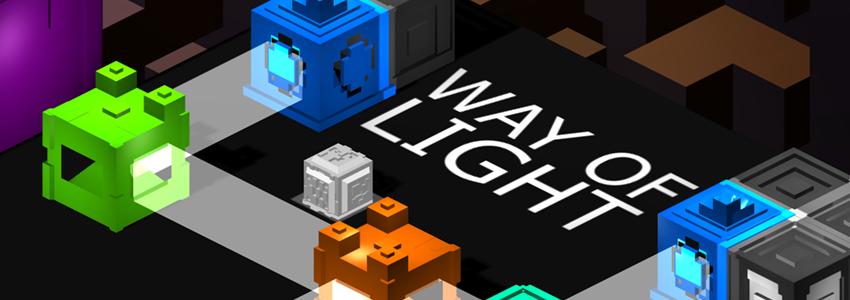Way of Light Game logo Banner